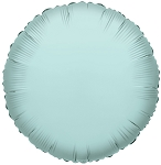 Solid Round Mint Green