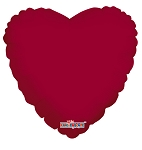 Solid Heart Burgundy