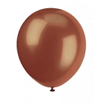 5in Brown Decorator Latex Balloon 144ct