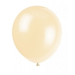 5in Ivory Decorator Latex Balloon 144ct