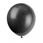 5in Midnight Black Decorator Latex Balloon 144ct