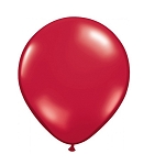 5in Ruby Red Decorator Latex Balloon 144ct
