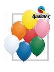 5in Standard Assortment with White Latex Balloons - 100ct