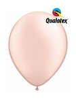 5in Pearl Peach Latex Balloons - 100 ct