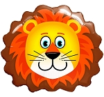 Special Shape Lovable Lion