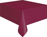 Rectangular Heavy Duty Table Cover - Burgundy