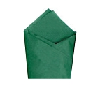 Holiday Green Satin Wrap - Pack of 24 pcs.