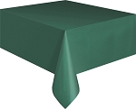 Rectangular Heavy Duty Table Cover - Hunter Green