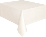 Rectangular Heavy Duty Table Cover - Ivory