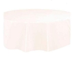 Round Heavy Duty Table Cover - Ivory