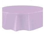 Round Heavy Duty Table Cover - Lavender