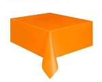 Rectangular Heavy Duty Table Cover - Orange