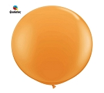 Round Heavy Duty Table Cover - Orange