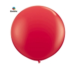 Round Heavy Duty Table Cover - Red