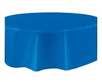 Round Heavy Duty Table Cover - Blue