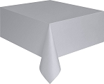 Rectangular Heavy Duty Table Cover - Silver