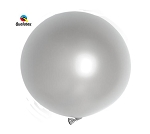 Round Heavy Duty Table Cover - Silver