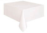 Rectangular Heavy Duty Table Cover - White