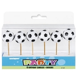 3D Soccer Ball Birthday Candles
