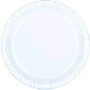 Clear 9in Plastic Plates