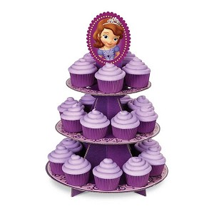 Sofia The First Cupcake Treat Stand