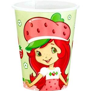 Strawberry Shortcake Party 9oz Hot/Cold Cups