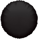 Solid Black (Round)