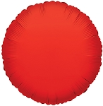 Solid Red (Round)
