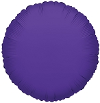 Solid Purple (Round)