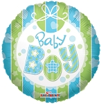 18in Baby Boy Bib