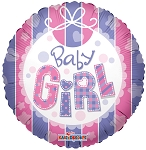 18in Baby Girl Bib