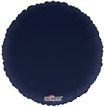 Solid Navy Blue Round