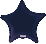 Solid Navy Blue Star
