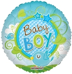 18in Baby Boy Bird Clear View