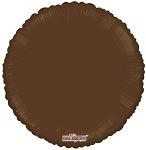 Solid Round Brown