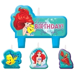 Disney Ariel Dream Big Mini Molded Candle Set