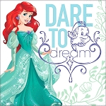 Disney Ariel Dream Big Magic Lunch Napkins