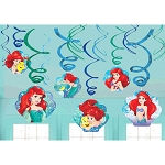 Disney Ariel Dream Big Swirl Decorations