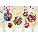 DC Super Hero Girl Swirl Decorations