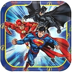 Justice League 7in Dessert Plates