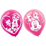 Minnie Mouse 12in Latex Balloon