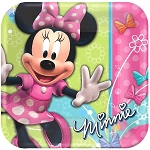 Minnie Mouse 9in Dinner Plates