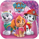 Paw Patrol Girl 7in Plates