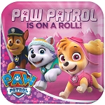 Paw Patrol Girl 9in Plates