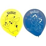 Pikachu & Friends 12in Latex Balloon