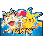 Pikachu & Friends Invitations