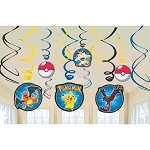Pikachu & Friends Swirl Decorations