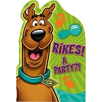 Scooby Doo Invitations