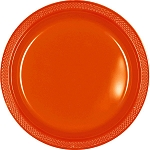 Orange Peel 7in Plastic Plates