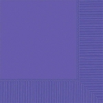 New Purple 2-Ply Beverage Napkins